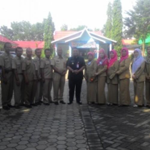 Walikota Banjarbaru Tinjau Pelaksanaan UN di SMAGA