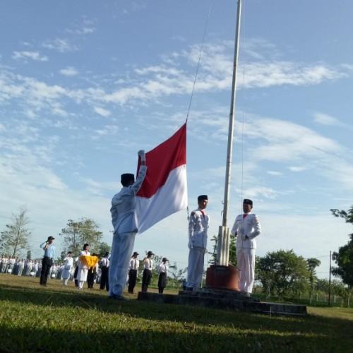 Upacara Peringatan 17 Agustus di SMAGA Berjalan Tertib